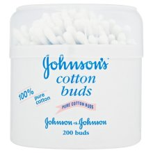 Johnson Baby Cotton Buds - Pack of 6, Total of 1200