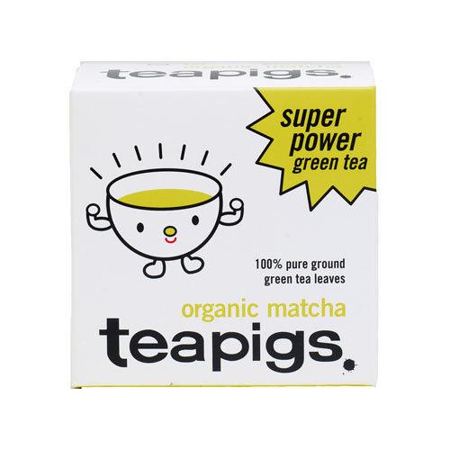 Teapigs  Matcha Super Power Green Tea 30g