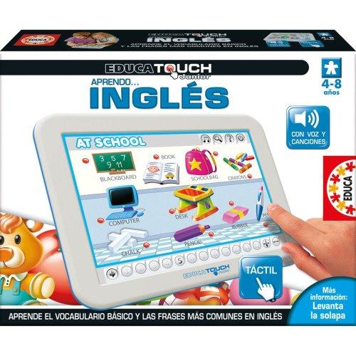 Educa Borrás 15438 - Educa Touch Junior Aprendo Ingles Spanish Language game for learning English