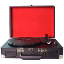 DIGITNOW! 3-Speed Turntable Record Player | Suitcase Turntable