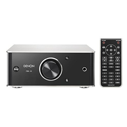 Denon PMA-30 Compact Design Integrated Amplifier with Bluetooth - Silver