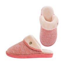 Fashion Cotton Slippers Winter Warm Indoor Slippers Couple Slippers,Women,RED