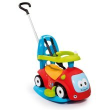 Smoby 4-in-1 Ride-on Car Maestro Balade III Red 720302
