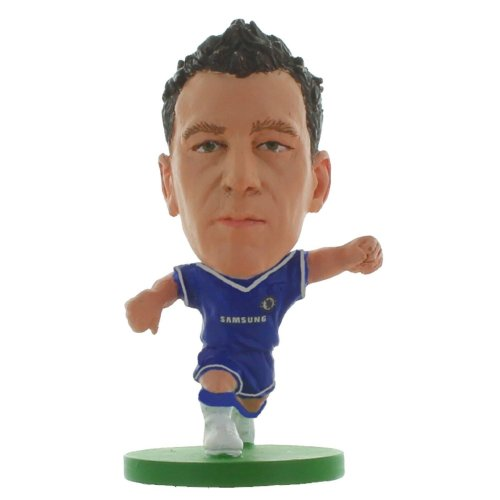 Soccerstarz - Chelsea John Terry - Home Kit - 2015 Version Football Figures - Soccerstarz Chelsea John Terry Home Kit 2015 Version Football Figures