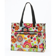 Joann Marrie Designs NPTFP Insulated Tote Bag - Flower Power  44  Pack of 2 a0b929114bd27