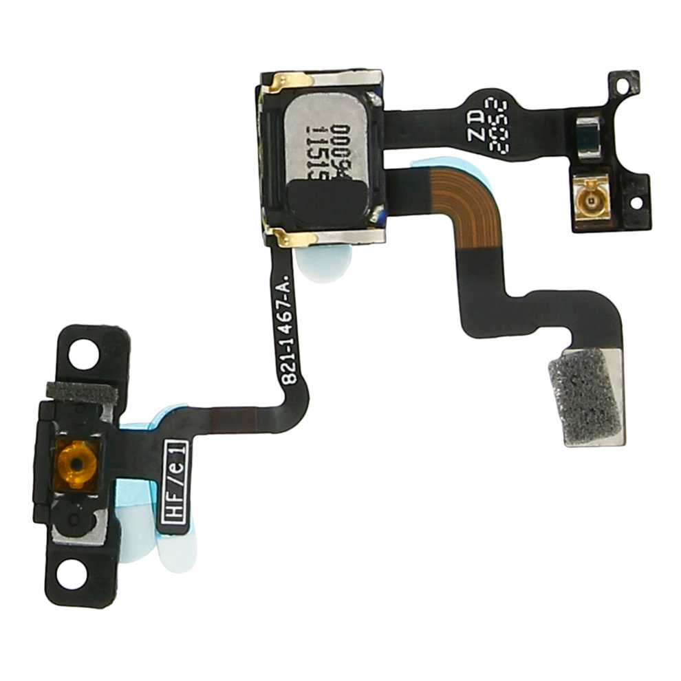 ON-OFF Button + Micro + proximity sensor Replacement part for Apple iPhone  4S