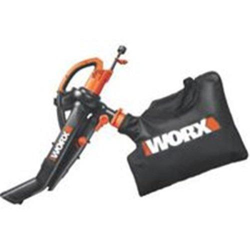 Worx Blower 3-In-1 Vac-Mulch W/Bag WG505