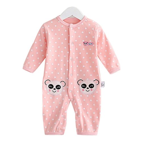 Baby Suit Clothing Long-Sleeved Cotton Baby Crawl Sports Clothing D