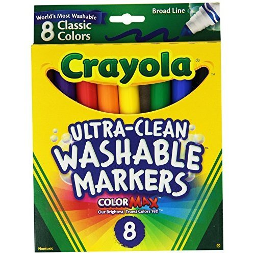 Crayola Broad Point Washable Markers Pack of 2 58 7808 2Pack