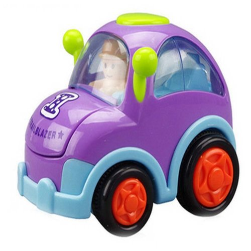 Crustaceans Car Wind-up Toy for Baby/Toddler/Kids (Color Random)