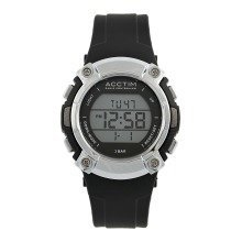 Acctim 60313 Sportivo Radio Controlled LCD Wrist Watch on Silicon Strap