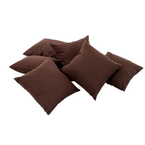 6x decorative pillow 45x45 cm