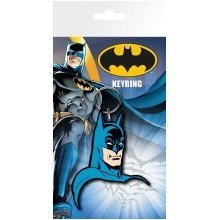 Batman Comic Face Keyring