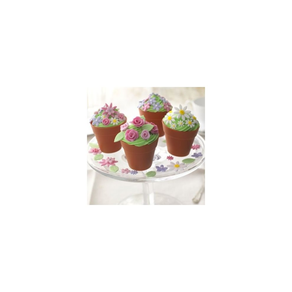 ... Lakeland Silicone Flowerpot Cake \u0026 Muffin Moulds ...  sc 1 st  OnBuy & Lakeland Silicone Flowerpot Cake \u0026 Muffin Moulds Pack of 6 on OnBuy
