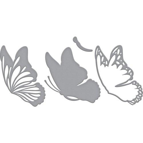 Spellbinders Indie Line Shapeabilities Dies-Layered Monarch