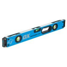 OX Pro Shockproof Spirit Level Dual View (Various Sizes)
