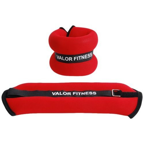 Valor Fitness EA 11 Ankle Wrist Weight Pair 3 Pound