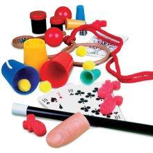 Magicians Case 58 Trick Set - Boys Full Instructions Uk Free Post -  magicians case 58 trick set boys full instructions uk free post