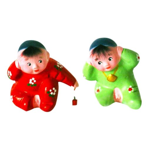 Personalized Home Decoration Creative Chinese Clay Doll Clay Ornaments