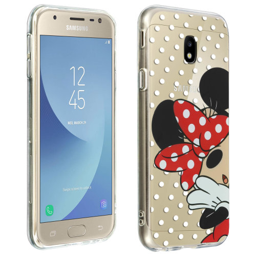 finest selection 39243 3ddd9 Minnie Mouse soft TPU case slim rear case for Samsung Galaxy J3 2017 -  Disney