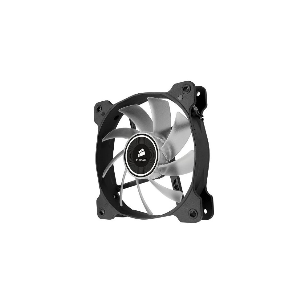 Corsair Air Series AF120-LED 120mm Quiet Edition High Airflow LED Fan -  White (Dual Pack)