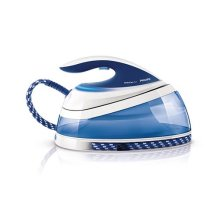 Philips GC7619/20 PerfectCare Pure Steam Generator Iron - OptimalTemp No Fabric Burns Technology, 200 g Pressurised Steam Boost - White/Blue