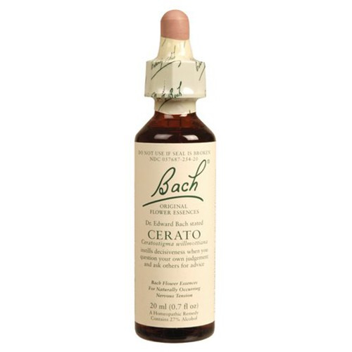 Bach Original Flower Remedies Cerato 20ml (order 130 for Trade Outer)