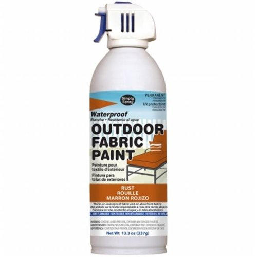OF0046-6M Outdoor Spray Fabric Paint - 13.3 oz., Rust