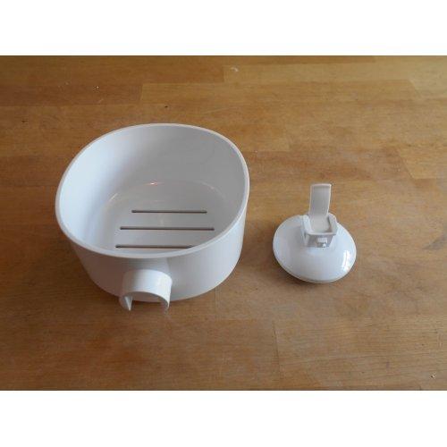 Alessi Birillo Soap Dish, White