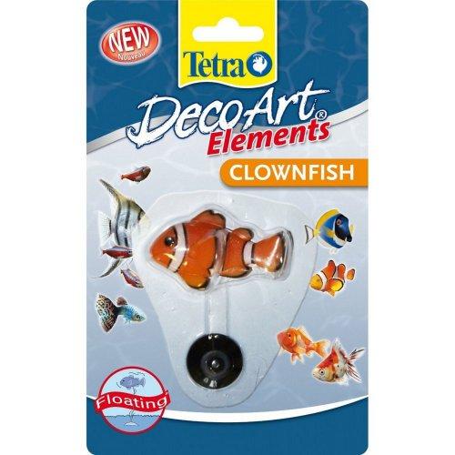 Tetra Decoart Elements Floating Clownfish Ornament