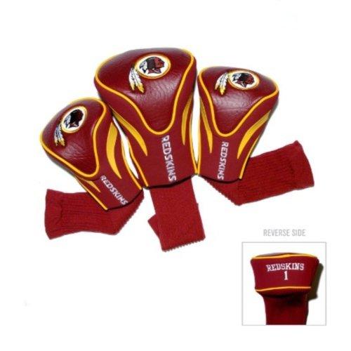 NFL Washington Redskins 3 Pack Contour Head Covers