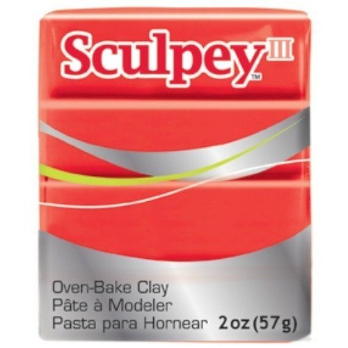 Eberhard Faber - Sculpey III, 57g, Red Hot Red