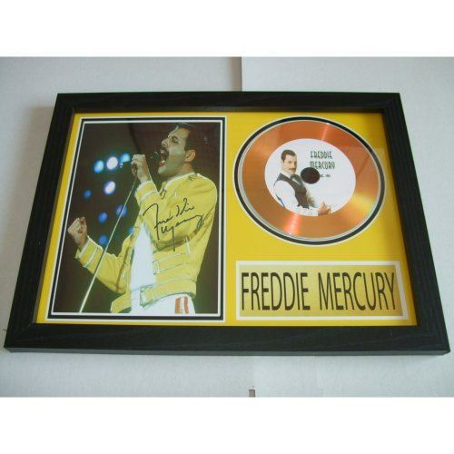 FREDDIE MERCURY  SIGNED DISC