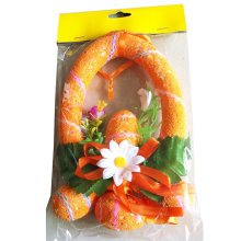 Children Bubble Easter Eggs/Egg Ring/Party Decorations/Gifts-Orange