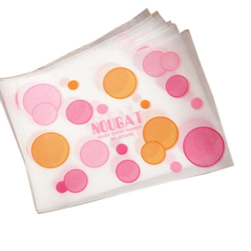 100 Pcs Candy Making Wrappers Christmas Candy Nougat Wrapping Papers, 23