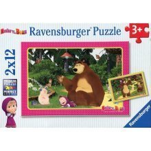 2 Jigsaw Puzzles - Masha and The Bear