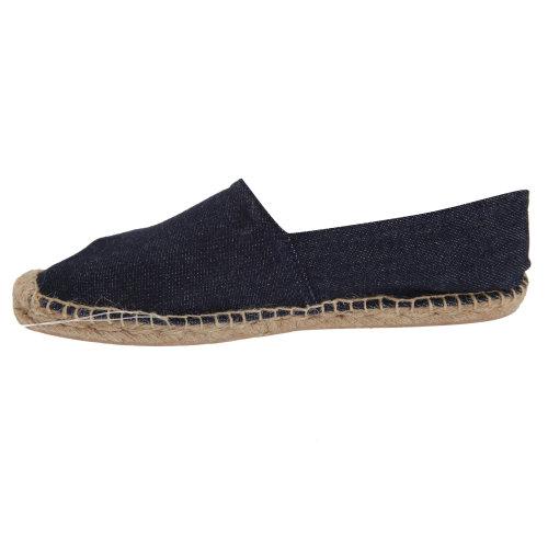 B&C Denim Womens/Ladies Espadrille Shoes
