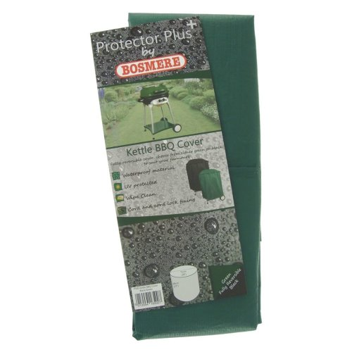 Bosmere Protector Plus Kettle BBQ Reversible Cover - Green/Black P500