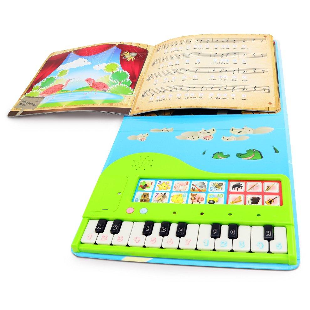 Blesiya 3 Pieces Waterproof Baby Kids Bath Book Early Educational Toys Set