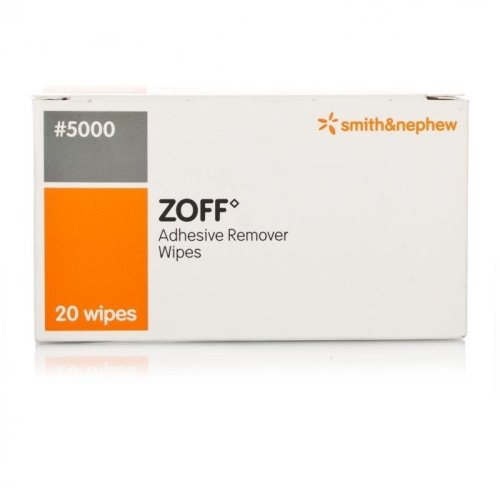 Zoff Adhesive Remover Wipes 20
