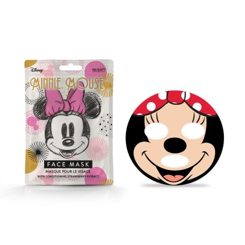 Disney Minnie Mouse Magic Sheet Face Mask By Mad Beauty