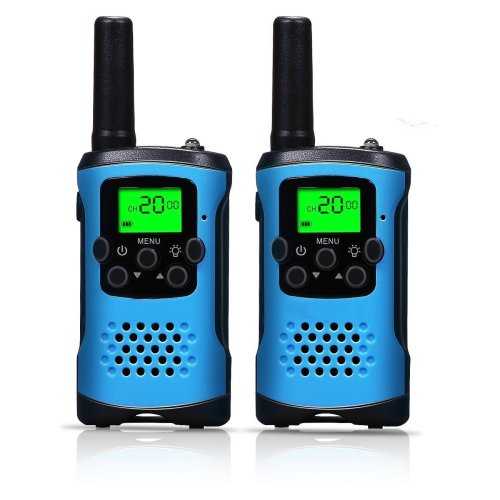 Walkie Talkies, Kids Walkie Talkies and Long Range Two-Way Radio for Kids Toys (Blue)