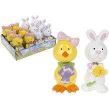 Easter Wobblers With Glitter -
