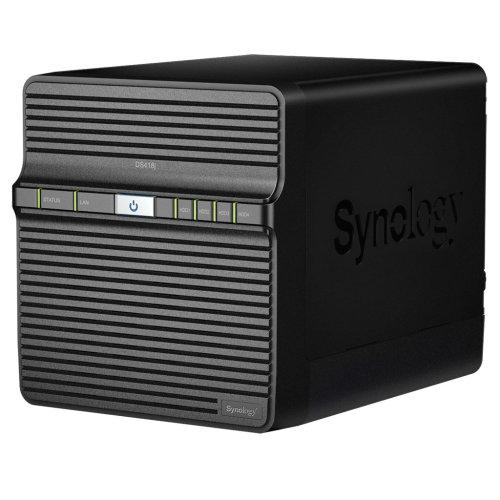 Synology DS418J 24TB 4 x 6TB WD RED 4 Bay Desktop NAS Unit DS418J/24TB-RED