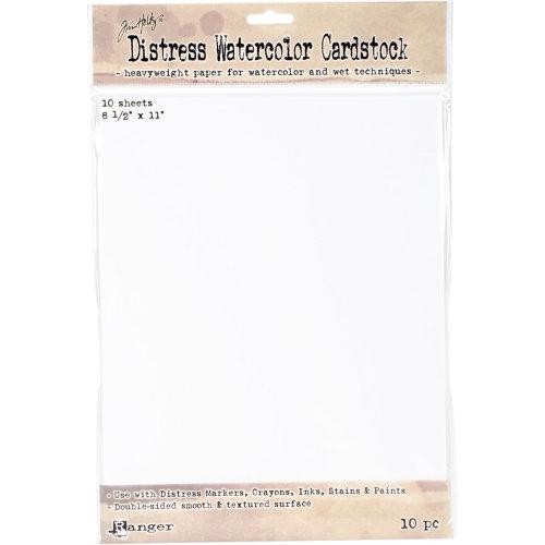 "Tim Holtz Distress Watercolor Cardstock 10/Pkg-8.5""X11"""