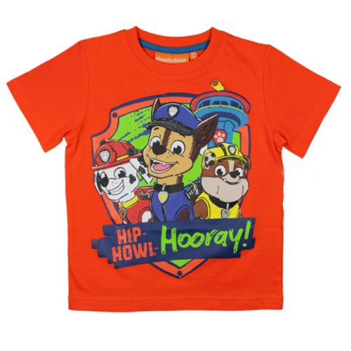 Paw Patrol T Shirt - Orange