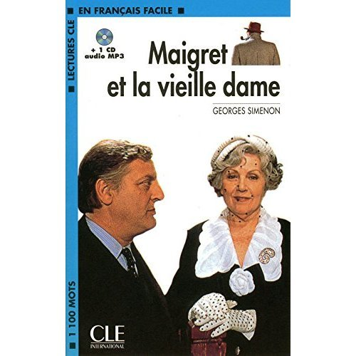 Maigret et la vieille dame - book + CD MP3