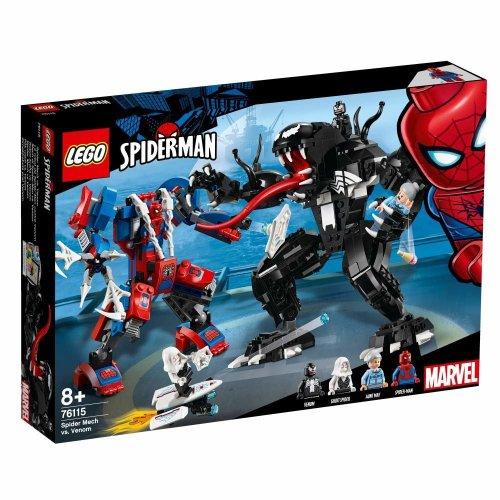 Lego 76115 Super Heroes Spider-Man Spider Mech vs. Venom