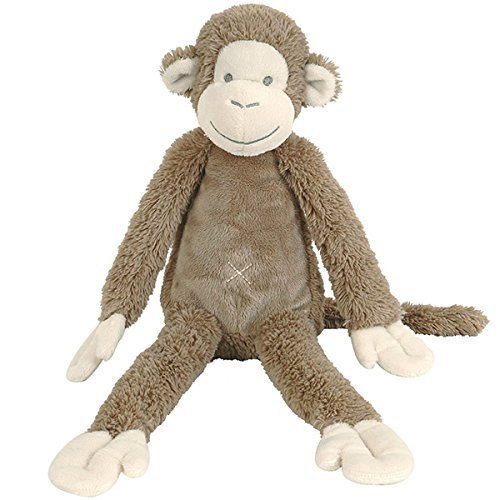 Happy Horse 130171 - Mickey Monkey Cuddly Toy, Stone Colour