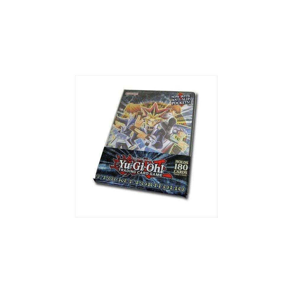 Konami Yugioh Card Supplies 4-Pocket Binder Classic LEGENDARY DUELIST PORTFOLIO